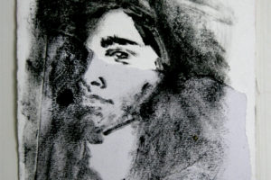 Alteration, monotype on Fabriano, 12.4 x 17.9cm